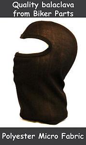 Balaclava face mask black motorcycle ski skiing cycling thermal motorbike helmet