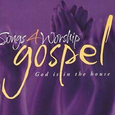 NEW Songs 4 Worship: Gospel - God in the House (Audio CD)