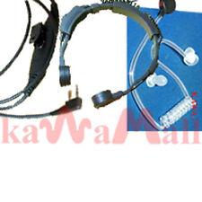 Military Throat Mic for Kenwood TK TH Radio KTRT