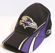 Reebok Baltimore Ravens Hat NFL Authentic Sideline Curved Brim