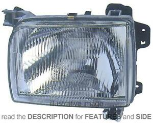 LHD Headlight For Nissan Pick-Up 720 D22 1997-2002 Left Side 26060-3S225