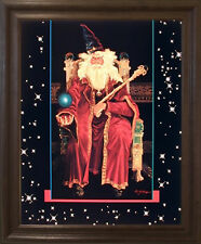 Magical Wizard Fantasy Mythical Creature Kids Framed Wall Decor Art Picture