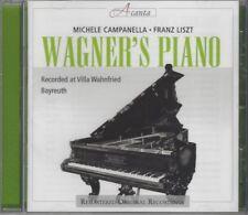 Franz Liszt: Wagner's Piano (Steinway in Wahnfried) - CD, Michele Campanella