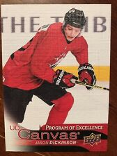 2016-17 UD Hockey Series 2 Canvas Program Of Excellence Jason Dickson C256