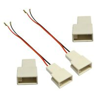2x câble connecteurs adaptateur haut-parleur pour Citroen C1 Toyota Aygo Peugeot