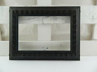 ANTICA CORNICE LEGNO GUILLOCHE GHIOSCE' NERA ANTIQUE BLACK WOOD FRAME