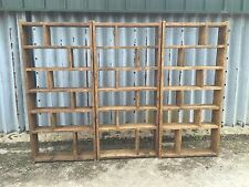 More details for the zig zag group! industrial up-cycled pigeon hole shelving units