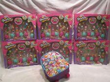 Shopkins Super Shopper Pack, Season 5 set, 192 pieces plus free backpack