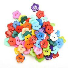 100 Pcs/lot Plastic Buttons Sewing DIY Craft decals for Children Z2S8