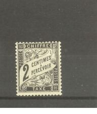 """FRANCE STAMP TIMBRE TAXE N° 11 """"TYPE DUVAL 2c NOIR"""" NEUF xx TB H923"""