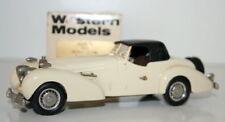 WESTERN MODELS 1/43 WMS16 - 1935 BUGATTI T46 5.3 LITRE ROADSTER - WHITE