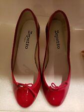 Repetto Cendrillon Ballerinas Veritable Classic Dance shoes Patent Leather Red
