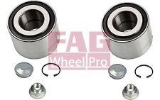 FAG Cojinete de 2 rueda RENAULT MEGANE CLIO 19 OPEL NISSAN MICRA 713 8015 10