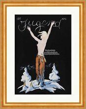 Titelseite der Nummer 6 von 1925 Friedrich Heubner Frau Berge Ski Jugend 4429
