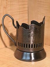 BRAND NEW SET OF 6 RUSSIAN PODSTAKANNIK SUPER RARE GLASS HOLDER HOT TEA COFFEE