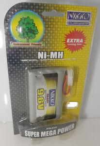 NIKKO Super Mega Power Akkupack Ni-MH 9,6 V NEU OVP