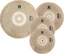 Agean Flat-R Low Volume Cymbal Pack Box Set