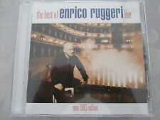The Best of ENRICO RUGGERI LIVE-NEW 2003 EDITION-CD