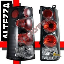 03 04 05 06 GMC Savana Chevy Express Tail Lights Black 1 Pair