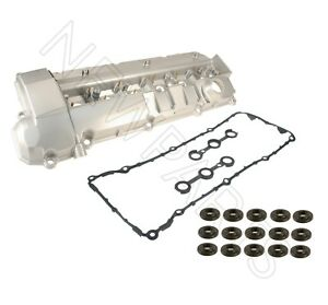 For BMW E36 325i 325is E34 525i Set of Valve Cover w/ Valve Cover Gaskets & Nuts