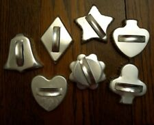 New listing 7 Metal Cookie Cutters Card Clubs/hearts/diamond plus
