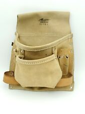 Action Works Products  Suede Leather Waist Tool Belt Pouch # AS-823-1