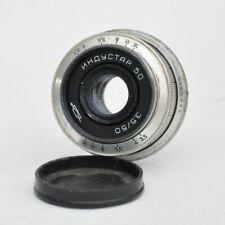 Industar 50 3,5/50 M39 Gewinde Silber Objektiv f/3,5 Lens Linse 50mm Leica USSR