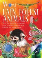 Rain Forest Animals [World of Wonder] [ Franklin, Carolyn ] Used - Good