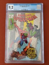 Amazing Spider-Man #97 CGC 9.2 - White Pages! Drug Issue Not CCA Approved 1971