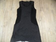 SANDWICH schönes Jersey-Etuikleid schwarz grau Gr. 38 TOP 218