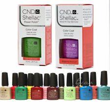 CND SHELLAC UV GEL COLOR Nail Polish Collection 2 Coat Pick Any Color