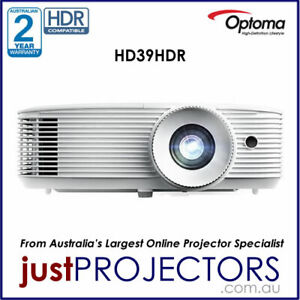Optoma HD39HDR FULL HD Projector from Just Projectors. 2 Year Aussie Warranty