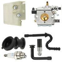 Vergaser Zündkerze Luftfilter Kit für Stihl 026 MS260 MS240 240 Walbro WT-194 DE