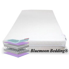 Luxury Spring Cot Bed Mattress with Quiltd Cover 140x70x13cm Thick