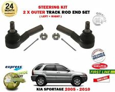 FOR KIA SPORTAGE  2005-2010  2 X FRONT LEFT & RIGHT OUTER TIE TRACK ROD END SET