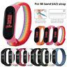 Nylon Strap für Xiaomi Mi band 5 4 3 ersatz Atmungsaktive Armband Xiomi Mi5 2020