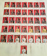 Eintracht Frankfurt Autogrammkarten 2019/20 AK Satz RAR 36 Stück