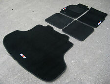 Car Mats-Mitsubishi Lancer Evolution 8 LHD (EVO VIII) + Ralliart logotipos + Boot Mat