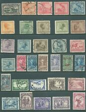 BELGIAN CONGO 1921-1937 used stamp & postmark collection
