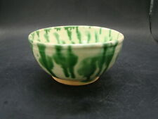 Chinese Tang Dynasty (618-907) nice sancai glazed bowl a4373
