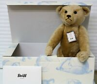 "STEIFF 25 YEARS  BRITISH COLLECTOR BEAR NEW EXCLUSIVE UK & IRELAND 20"" 306/1000"
