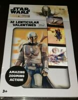 Star Wars The Mandalorian 32 Lenticular Valentine Cards Grogu Baby Yoda Dar Djin
