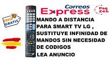 MANDO A DISTANCIA UNIVERSAL RM-L930+1 SMART TV LG SUSTIUTYE INFINIDAD DE MANDOS