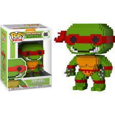 Teenage Mutant Ninja Turtles - Raphael 8-Bit Pop! Vinyl Figure NEW Funko
