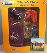 BREYER TRADITIONAL-Winners Circle Western Accessory  Set