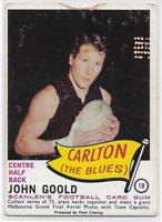 1966 Scanlens (18) John GOOLD Carlton :