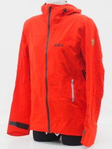 New! Louis Garneau Men's 4 Seasons Hoodie Jacket Size Medium (Red/Black)