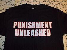 Large- WWE Punishment Unleashed T- Shirt