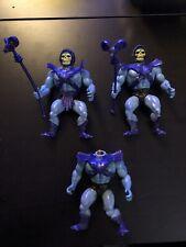 1981 He-man Skeletor Lot Of 3