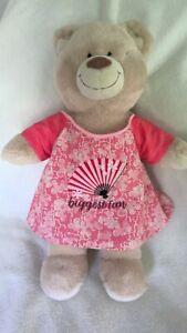 BAB Build a bear teddy clothes fit girls dress 40 cm length inc PPatch handmade